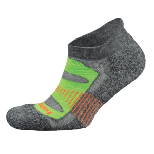 Blister Resist No Show: Charcoal / Lime Green